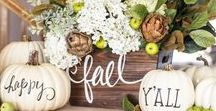 Fall/ Halloween Decor and More / Fall and Halloween decor and recipes.