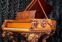 Old musical organs