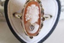 Cameo / # gems carved in relief
