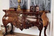 Wooden furniture / #Ideas about Wood furniture