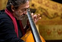 Jordi Savall , Violagambista, director of orchestra , musicologist, specialized in ancient music.
