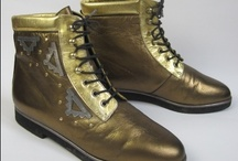 Vintage Boots from the 1960s-1980s / Vintage boots from the 1960s-1980s, available to buy at http://www.virtualvintageclothing.co.uk/