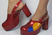Women's Vintage Shoes from the 1950s-1980s