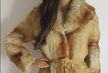Vintage Coats / Retro faux fur and other vintage coats available on our website - virtualvintage.co.uk