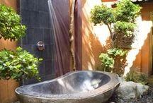 Outdoor Baths & Showers