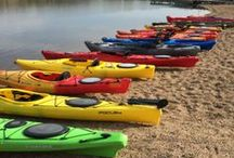 Kayaks, Canoes, and SUP's / What's an SUP you say? Stand up paddle boarding! Come in and we'll tell you all about the latest trend in water sports!