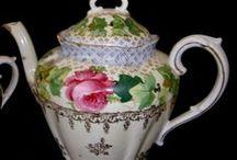 teiere, cioccolatiere, versatoi / collezione porcellana