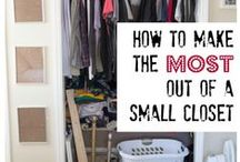 Domestically Challenged / Ways to organize my home that are realistic for this messy mama.