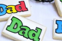 Father's Day Cookies / Nothing quite shows love for Dad, than cookies!