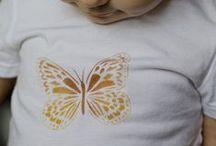 Textil / Proyectos textiles en los que se han utilizado pinturas en barra Markal y/o plantillas.