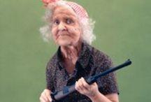 бабушки old woman