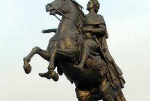statue equestrian