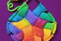 Knitting and Crochet / A little of this, a little of that
