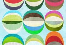 Modern quilts - bright colors / Fresh, modern and inspiring quilt projects.