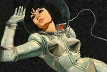 Astrounautarchy / Near future, far future. Astronauts.