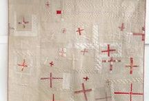 Modern quilts - light and neutral colors