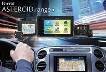 Automobile / Asteroid Navigation + Apps + Multimédia Téléphonie mains-libres