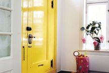 Happy home / Colorful interiors.
