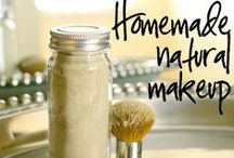 DIY Beauty & Body / Like an increasing number of people I would like to avoid putting toxic products on or in my body. Here is a start: how to make your natural make-up, toners, de