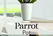 Parrot Pot / Parrot Pot: the most advanced connected plant pot