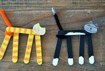 Creatie kids popsicle sticks