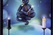 Black Cats Tarot / I don't actually read Tarot cards. I just love the artwork that has been so beautifully and painstakingly created by some amazing artists.