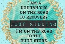 My tribe / Fellow quilters.