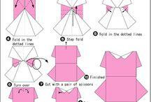 Origami- dresses