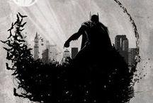 Batsy / batman comic art
