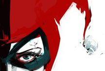 Harleen / Harley Quinn Comic art