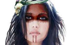 Tribal / tribal/ native american influence