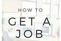 How to Get Hired / Be sure to check the JOBS board for current opportunities like upcoming career fairs. / by Meredith College OCP