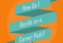 Careers to Consider / Majors and careers trends - pair this with the Decisions board. / by Meredith College OCP