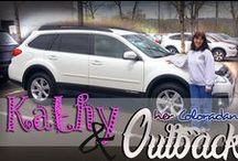 Happy Subaru Customers / It's all about the smiles!  Who doesn't love buying a new Subaru?