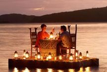 Romantic Spaces / Romantic spots and homes