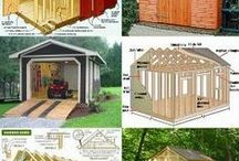 Outdoor Storage Sheds Green Houses / DIY Storage, Organization, Sheds, Green Houses / by Christine Sinclair