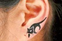 Cat tattoo / Cat tattoo