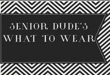 Senior Dudes- What to wear / by Eve Marr Photography