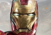 Iron Man Artworks / He's cool and yes he knows.