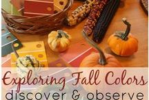 Fall in the Classroom / Discover activities and decorations centered around fall and Halloween for  your classroom.
