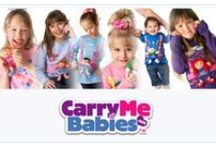 Carry Me Babies / The perfect One of Kind Three Dimensional T-shirt and Doll Carrier. Carry Me Babies® is so versatile its endless how much imaginative play a child can have just by wearing Carry Me Babies® not to mention they can still carry their favorite stuffed doll or pet and be hands free to play. Great product for fundraising for a children cause and getting a child voice without saying a word :) The perfect gift idea for xmas, birthdays, new born, pregnant, baby shower...