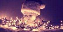 La navidad llegó a casa :) / Que nuestro bebé disfrute esta hermosa época junto con toda la familia y algunos detalles para decorar, ¿te animas a hacerlos?