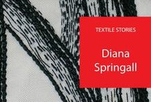 Diana Springall / A board dedicated to the great British embroiderer Diana Springall who works tirelessly to raise the profile of embroidery amongst the arts.
