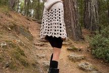Ponchos / Handmade Crocheted Products