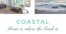 Coastal / HOME IS WHERE THE BEACH IS. Let the coastal style bring the beach right to where you call home. Think warm whites, ocean hues and reflective surfaces. With a seaside-themed kitchen or bathroom, it's like you're always on a beach vacation.