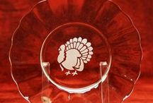 Fall & Thanksgiving Projects / Project ideas devoted to Glass Etching for fall and Thanksgiving