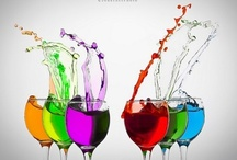 colorful drinks / by betty cartoon