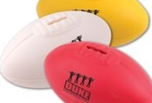 Sports Promotional Merchandise / Everyone loves sport! Whichever tops your list, these are the perfect products to personalise and get your brand on some fun sports and athletic products and merchandise - hats, apparel, key rings, bags, accessories, balls, equipment.
