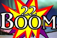 22 Boom / 22Boom is our nightly TV Magazine show on BV-22 on Comcast Cable Television in Boulder county. It is hosted by Jann Scott.