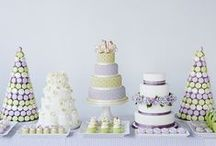 """Dessert Tables / Evolving from the """"lolly buffet"""", dessert tables always catch our eye!"""